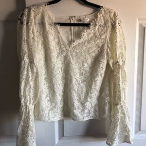 Club Monaco Lace Top